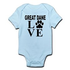 Great Dane Love Body Suit