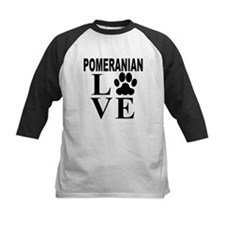 Pomeranian Love Baseball Jersey
