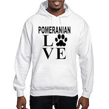 Pomeranian Love Hoodie