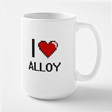 I Love Alloy Digitial Design Mugs