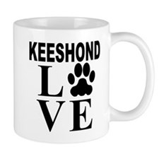 Keeshond Love Mugs