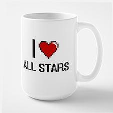 I Love All-Stars Digitial Design Mugs