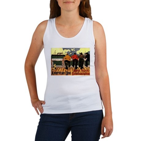 Vintage American Line New Yor Women's Tank Top