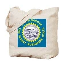 South Dakota State Flag Tote Bag