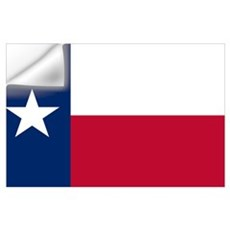 Texas State Flag Wall Decal