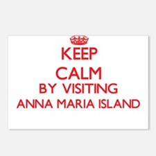Keep calm by visiting Ann Postcards (Package of 8)