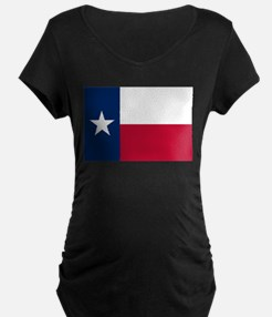 Texas State Flag Maternity T-Shirt