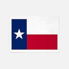 Texas State Flag 5'x7'Area Rug