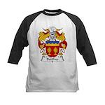 Botilher Family Crest Kids Baseball Jersey