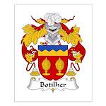 Botilher Family Crest Small Poster