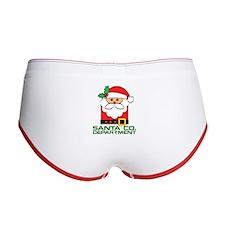 Christmas Santa Co. Department Women's Boy Brief