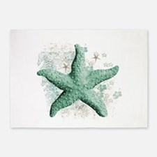 Timeless Starfish 5'x7'Area Rug