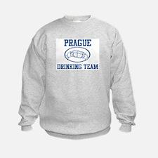 PRAGUE drinking team Sweatshirt