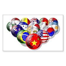China Soccer Balls Decal