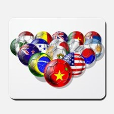 China Soccer Balls Mousepad
