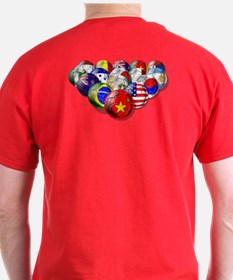 China Soccer Balls T-Shirt