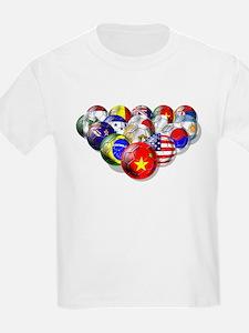 China Soccer Balls T-Shirt