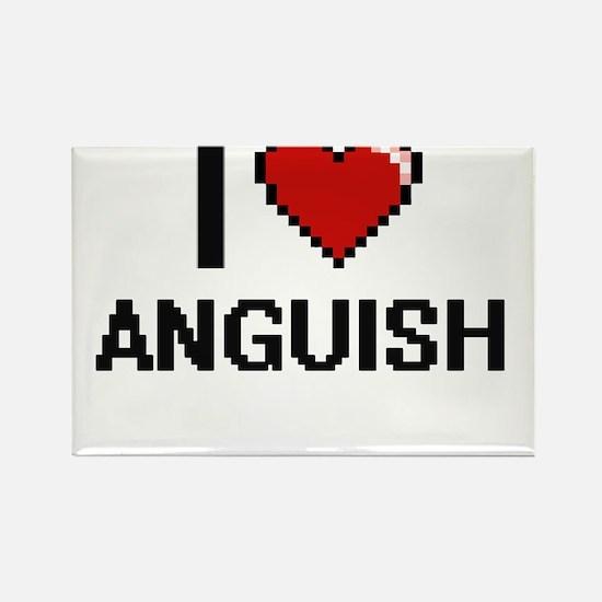 I Love Anguish Digitial Design Magnets