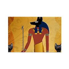 Anubis, ancient Egyptian god Magnets