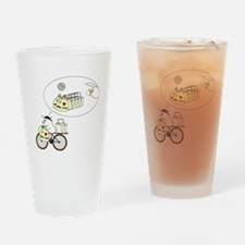 Take-Out Delivery Drinking Glass