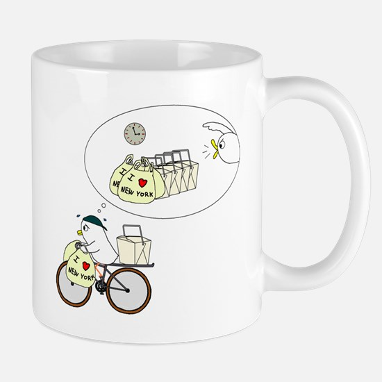 Take-Out Delivery Mugs