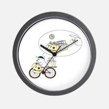 Take-Out Delivery Wall Clock