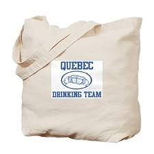 QUEBEC drinking team Tote Bag