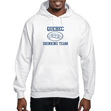 QUEBEC drinking team Jumper Hoody
