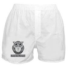 Owl books best B&W Boxer Shorts