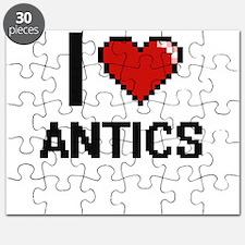 I Love Antics Digitial Design Puzzle