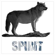Wolf Spirit (Dark) Poster