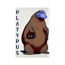 Platypus 2 Rectangle Magnet
