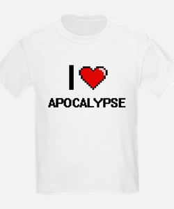 I Love Apocalypse Digitial Design T-Shirt