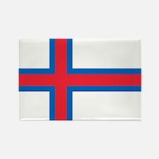 Faroe Islands Flag Rectangle Magnet