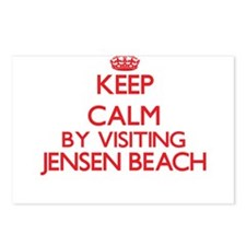 Keep calm by visiting Jen Postcards (Package of 8)