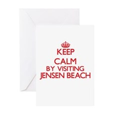 Keep calm by visiting Jensen Beach Greeting Cards