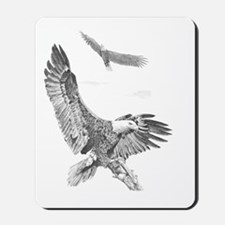 Eagle in Flight Mousepad