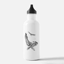 Eagle in Flight Water Bottle