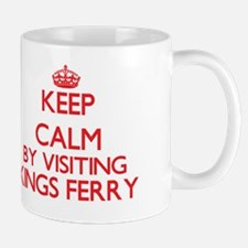 Keep calm by visiting Kings Ferry Georg Mug