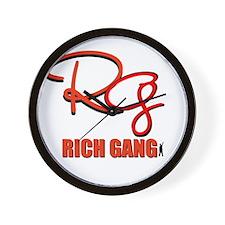 RICH GANG Wall Clock