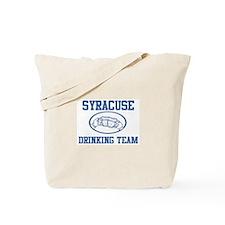SYRACUSE drinking team Tote Bag