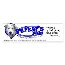 Parker's Pals Bumper Bumper Sticker