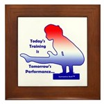 Gymnastics Framed Tile - Training