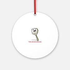 Tofu Round Ornament