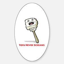 Tofu Sticker (Oval)