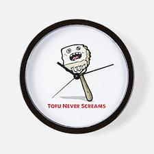 Tofu Wall Clock