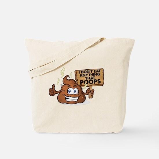 Poops Tote Bag