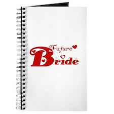 Future Bride (red) Journal