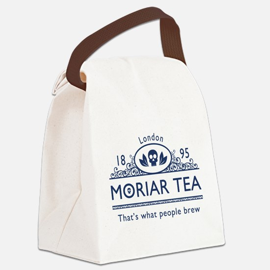 moriarteanewblue.png Canvas Lunch Bag