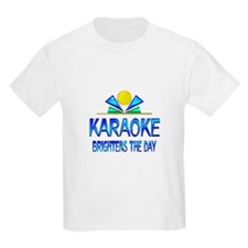 Karaoke Brightens the Day T-Shirt